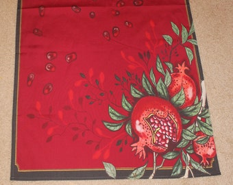 50-27 in Pomegranate  tablecloth