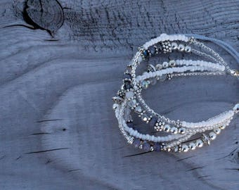 """Quinto"" Swarovski Bracelets adjustable BRACELETS"