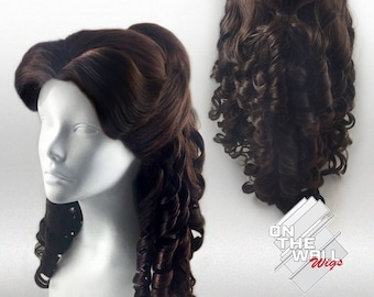 Formal Princess Belle Beauty and the Beast Inspired Adult Custom Wig  *Made-to-Order*