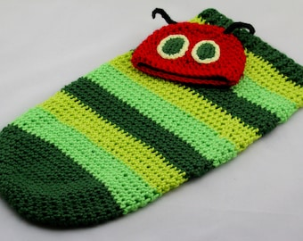 79156a614 Items similar to The very Hungry Caterpillar baby costume, crochet ...
