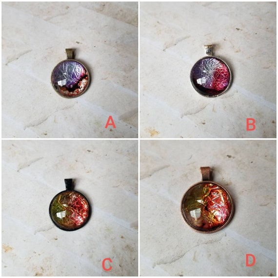 Alcohol ink art jewelry, alcohol ink pendant, alcohol ink on aluminum foil, original art jewelry, alcohol ink pendant, alcohol ink necklace