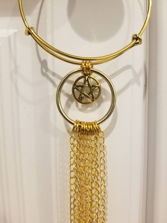 Witch bells, gold witch bells, faerie bells, protection bells, witches protection bells, bells for doors, witches bells