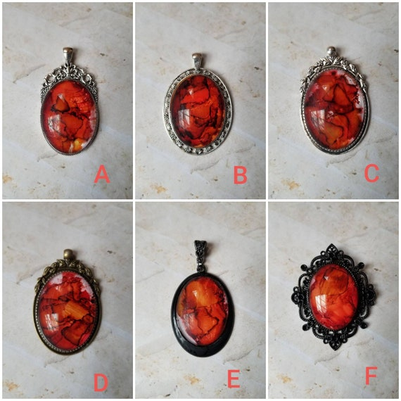 Alcohol ink art jewelry, alcohol ink pendant, alcohol ink on glass, original art jewelry, alcohol ink pendant, alcohol ink necklace
