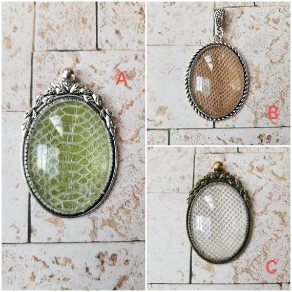 Snake shed jewelry, snake shed pendant, snakeskin necklace, cruelty free snake sheds, Children's python shed pendant, Children's python