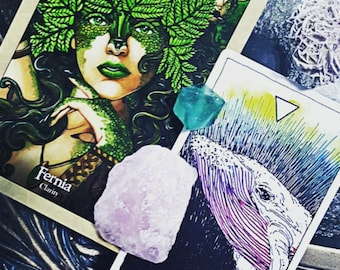 Oracle, Oracle, Tell me what I need to know.  Request a Two Card Oracle Reading.