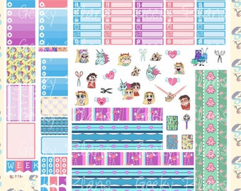 Star vs. the Forces of Evil Printable Planner Stickers 320baa70456c3