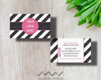Perfectly Posh Business Cards Etsy