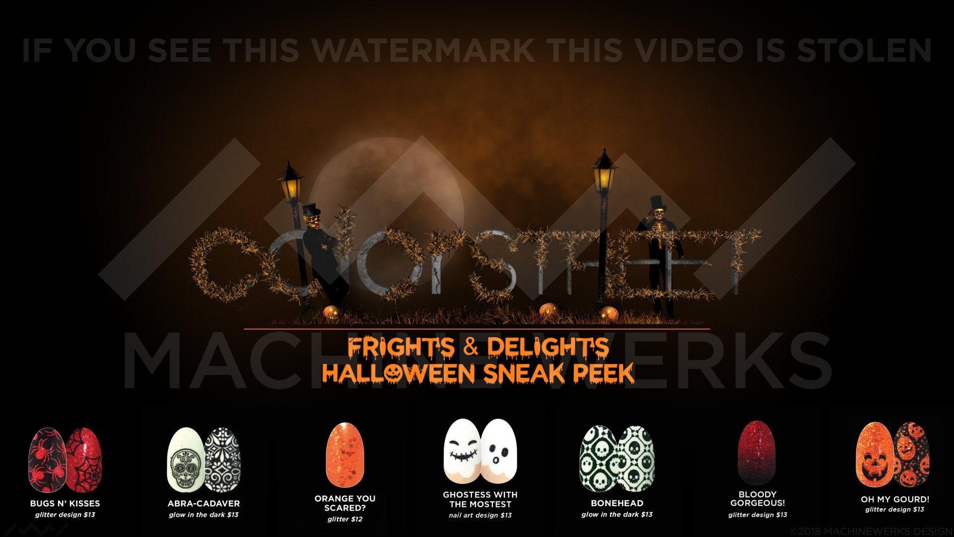 Color Street Halloween Nails Sneak Peak Video Motion ...