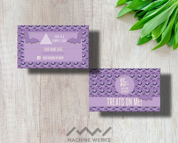 Color Street Business Cards, Independent Stylist Marketing