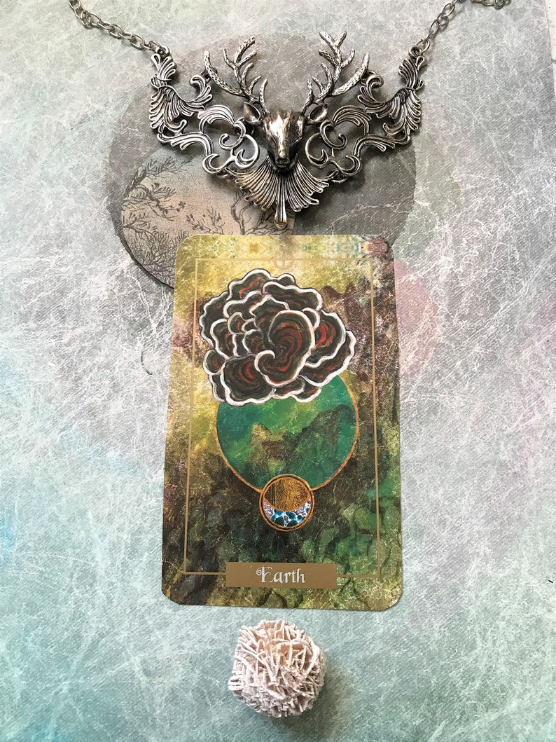 Illuminated Earth Oracle Card Deck, Oracle Deck, Tarot Deck, Tarot cards,  Divination