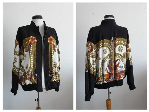 Vintage 1980s bomber jacket   80s bomber jacket la