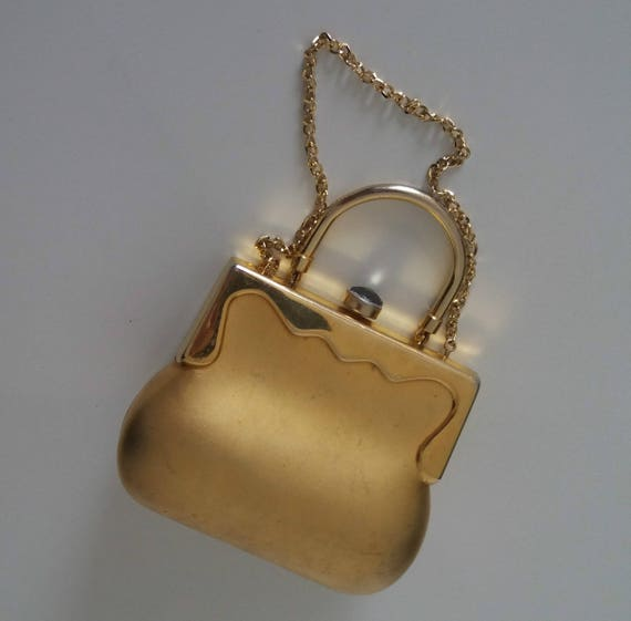1930s mini box purse | 30s metal box purse | eveni
