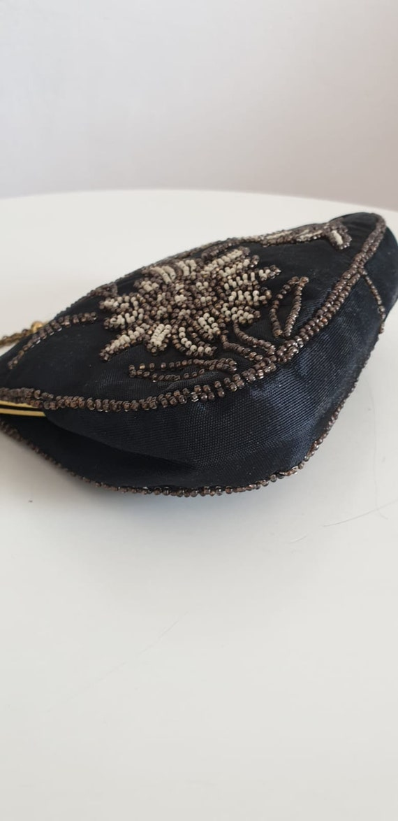 1930s bag purse with beaded embroidery | vintage … - image 5