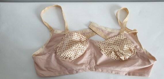1930s cotton bra | vintage 30s cotton brasier