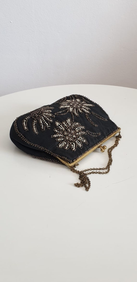 1930s bag purse with beaded embroidery | vintage … - image 2