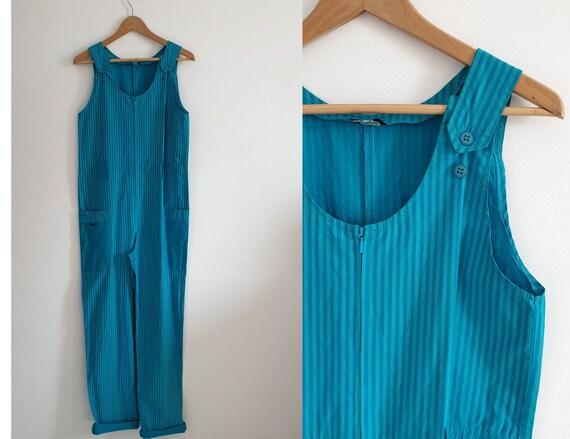 Vintage 1960s jumpsuit   1960s workwear   60s cott