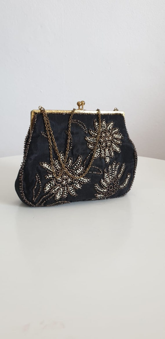 1930s bag purse with beaded embroidery | vintage … - image 7