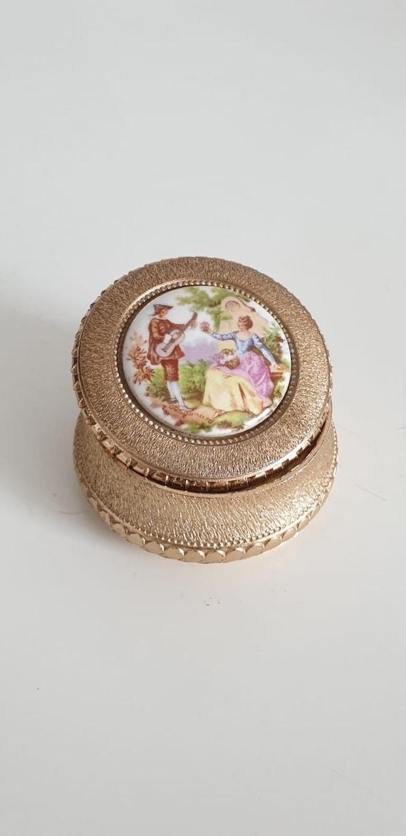 1950s jewerly box   vintage 50s scene galante Frag