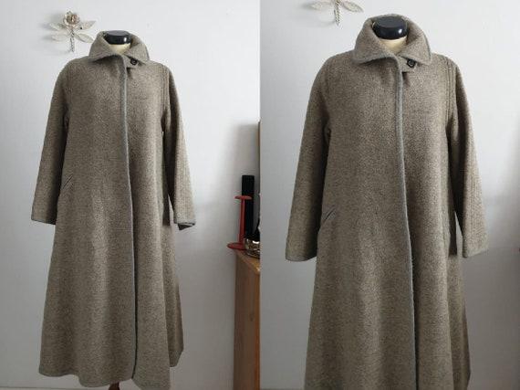 1950s wool coat | vintage 50s wool cape