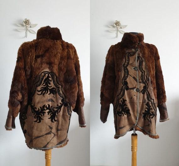 Vintage fur coat | 1930s fur coat | vintage 30s fu