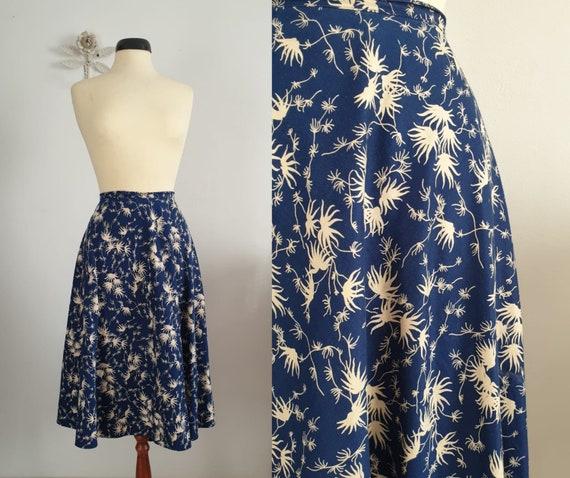 1950s circle skirt  | vintage 50s skirt