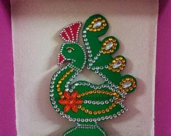 Designer Wall Piece (Peacocks)