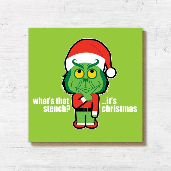 Funny Christmas Images.Grinch Christmas Card Funny Christmas Cards The Grinch Holiday Cards Christmas Cards Cool Christmas Cards Card For Boyfriend