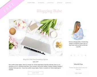 FREE Blogging Theme + WordPress Workshop