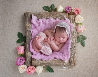Newborn Digital Backdrop/ prop - (Noelle)