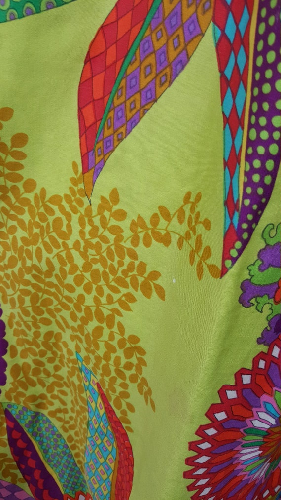 Side Lime Green Vibrant Light Pockets Print Jumpsuit Colorful Bold Multicolor WT8nwTB6x