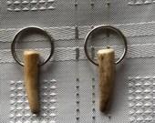 Genuine antler key rings ...