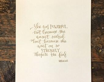 Atticus Quote