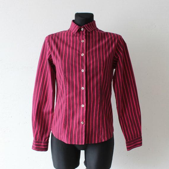 MARIMEKKO Jokapoika fuchsia striped shirt Iconic F