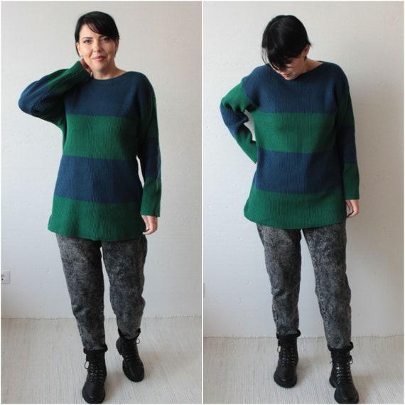 Marimekko vintage 80s knitted cotton women's sweat