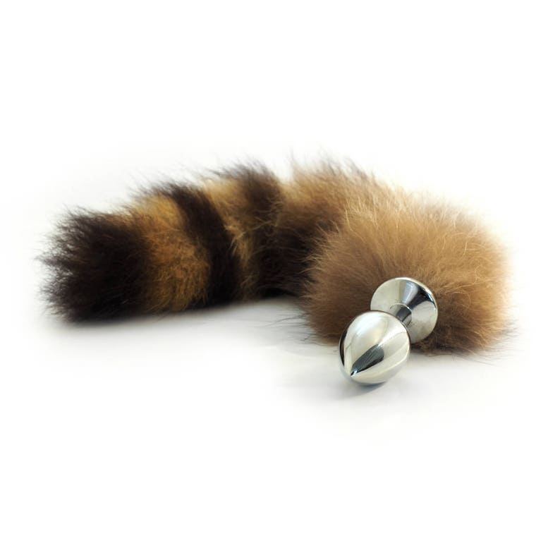 faacbd8f3 Randy the Raccoon Tail Butt Plug Anal Toy