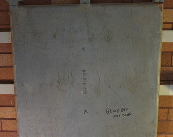 Boiler Door timber foundry pattern 800 x 800 mm