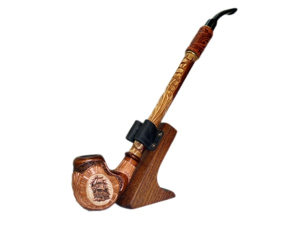 Long Wooden Smoking Pipes