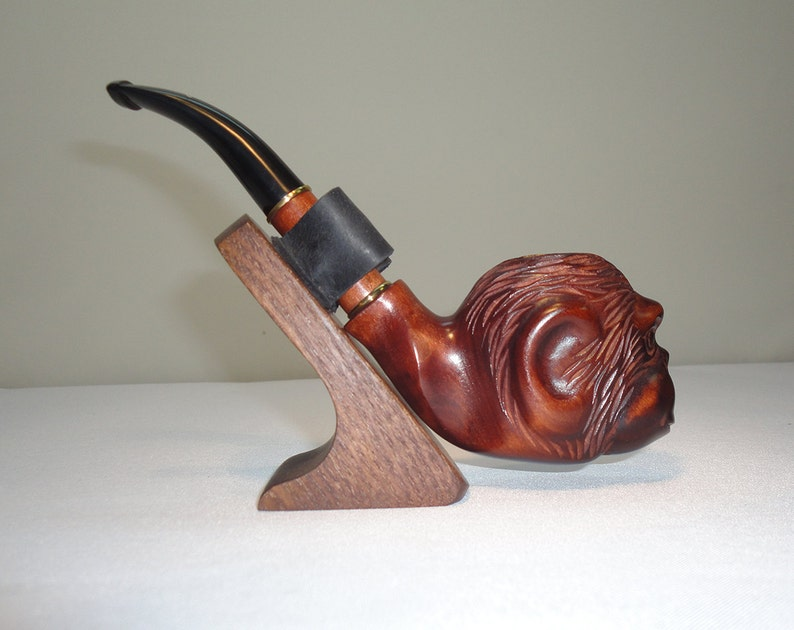 Wooden Smoking Pipes Tobacco Pipe Handcrafted Wood Smoking Pipe Exclusive Smoking Pipe Collectible Smoking Bowl Grandfather Gift For Men