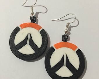 Overwatch Widowmaker silver stud earrings Overwatch jewelry Perfect accessory for Overwatch cosplay