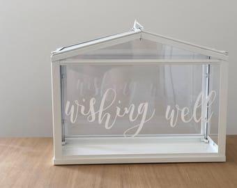 Wedding Wishing Well / Personalised Wishing Well / Wishing Well / Cards / Wedding Presents
