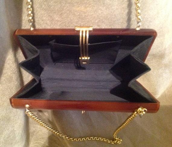 1940s / 50s Vintage Lucite Ladies Handbag / Purse - image 5