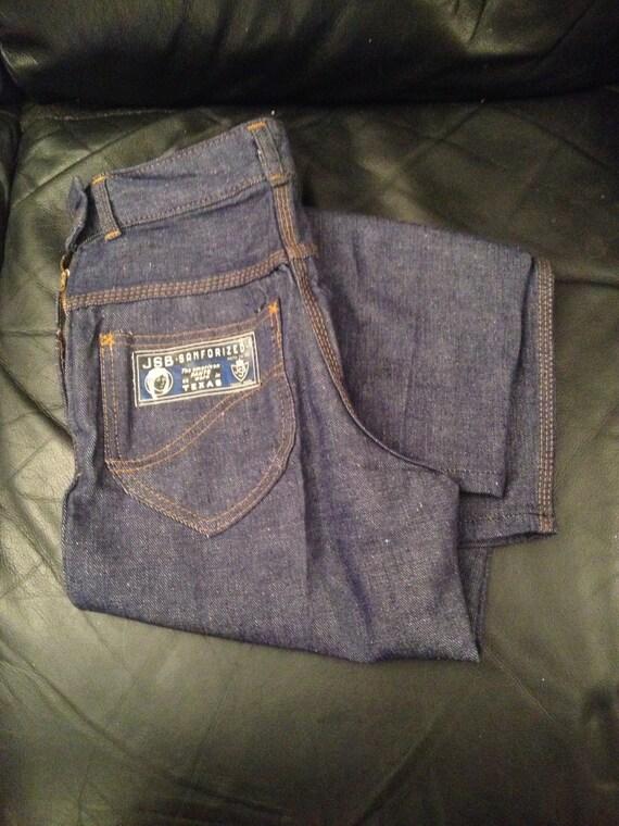 1950s Ladies Jeans Dead Stock / JSB - SANFORIZED … - image 3