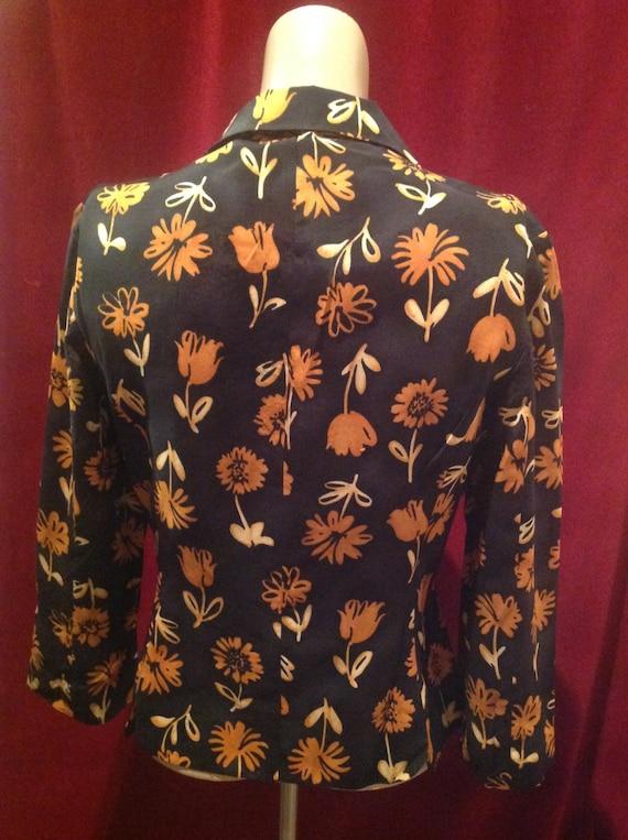 1950s Ladies Jacket Blouse / 50s Blouse - image 2