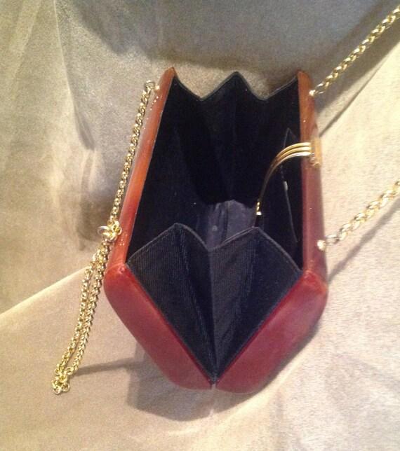 1940s / 50s Vintage Lucite Ladies Handbag / Purse - image 6
