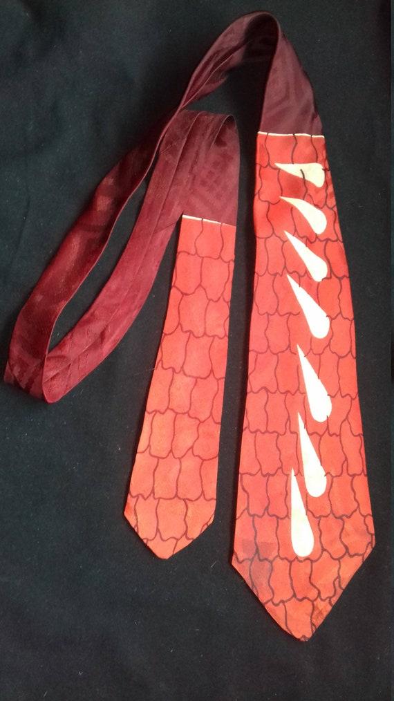 1950s Rare Men Tie / Gallant Aristocrat
