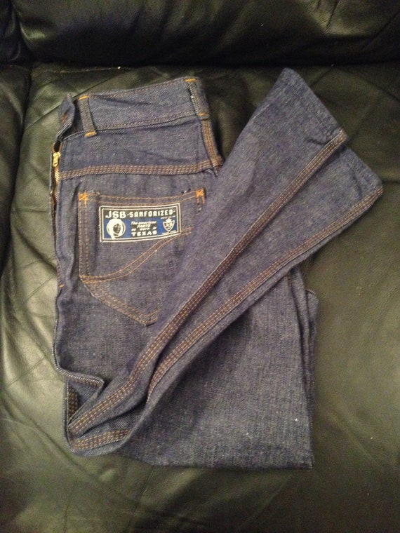 1950s Ladies Jeans Dead Stock / JSB - SANFORIZED