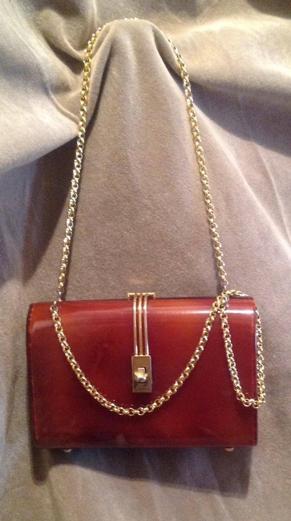 1940s / 50s Vintage Lucite Ladies Handbag / Purse
