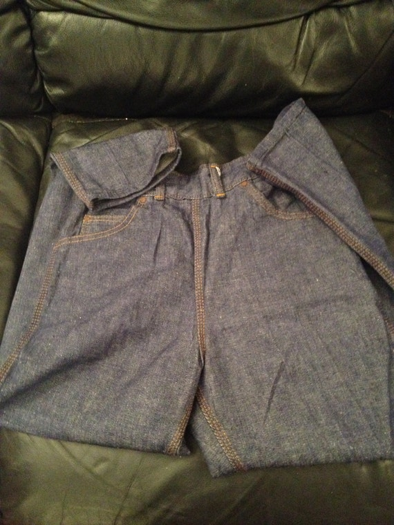 1950s Ladies Jeans Dead Stock / JSB - SANFORIZED … - image 4