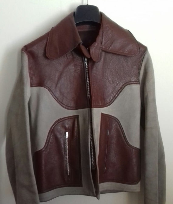 Vintage Western Jacket /  Western Jacket leather a