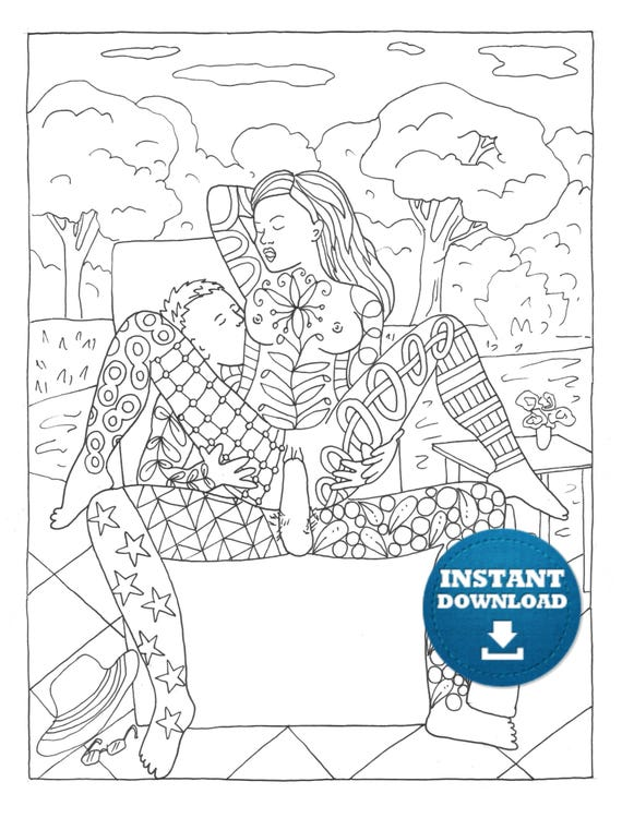 - Sex Positions Coloring Book 20 Pages Instant Download Naughty Etsy